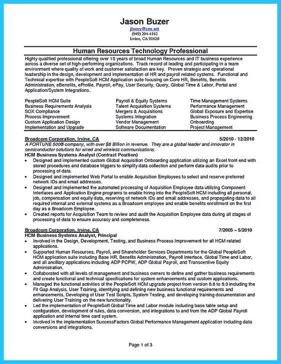Do you think getting the business analyst job is easy? Getting - bsa analyst sample resume