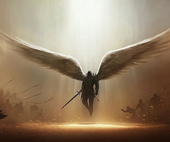 Angels are powerful beings that do the will of God and make spiritual warfare against the devil all around us all the time.