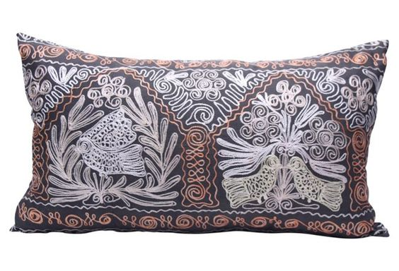 Tribal Suzani Pillow