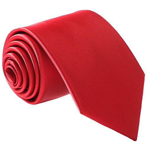 Fortunatever Mens Solid Color Tie,Hademade Neckties With Multiple Colors+Gift Box