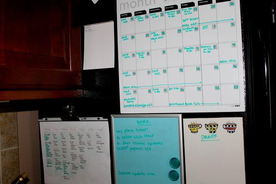 Calendar and list station