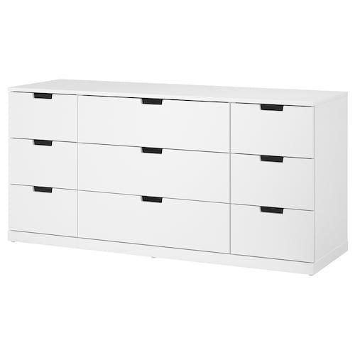 Malm 6 Drawer Dresser White 63x30 3 4 Cajonera Ikea Cajones
