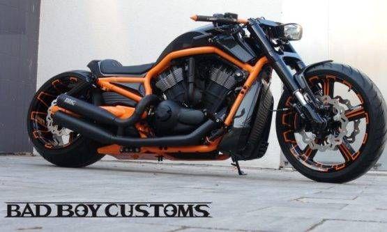 H D V Rod Custom Bike Carbon 5 By Bad Boy Customs V Rod Custom Harley Davidson V Rod Custom Bikes