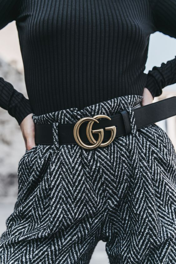 Gucci Logo Belt: