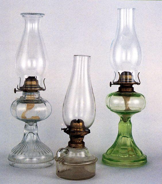 Kerosene lamps: