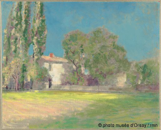 Odilon Redon Peyrelebade entre 1896 et 1897
