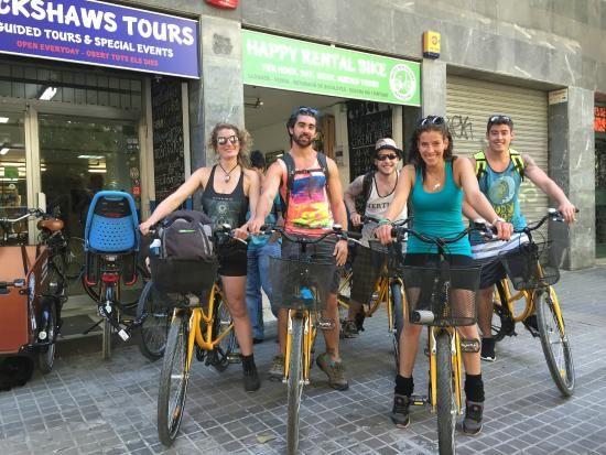 Happy Rental Bike - Barcelona, Spain