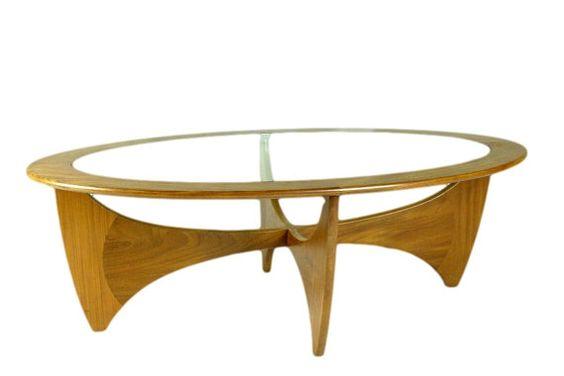 Au milieu du siècle danois moderne Table basse teck par G Plan