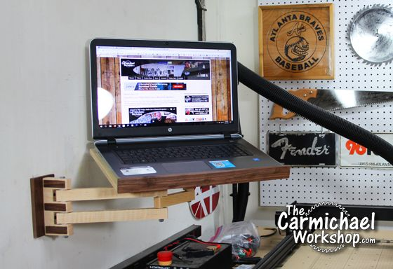 Diy Laptop Wall Mount With Articulating Arm Diy Laptop Wall Mounted Tv Tv Wall