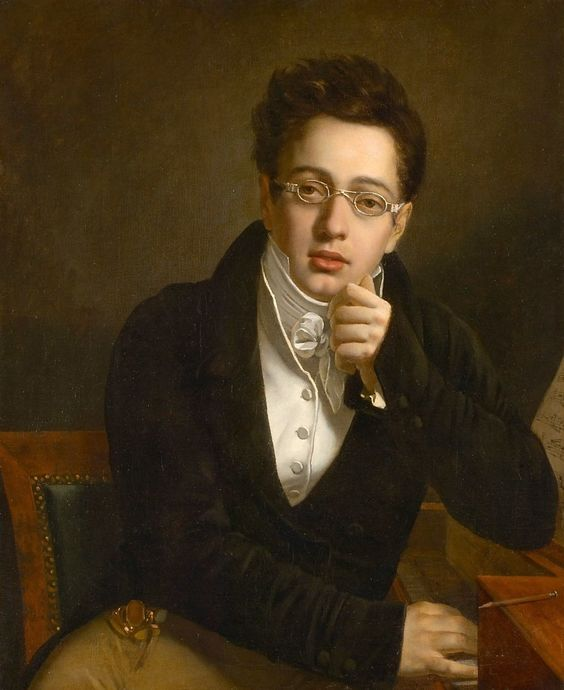 Portrait of Franz Schubert Joseph Abel, 1814