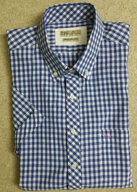 D'S Damat Tween Regular Fit Short Sleeve Plaid Shirt #DSTween #ButtonFront
