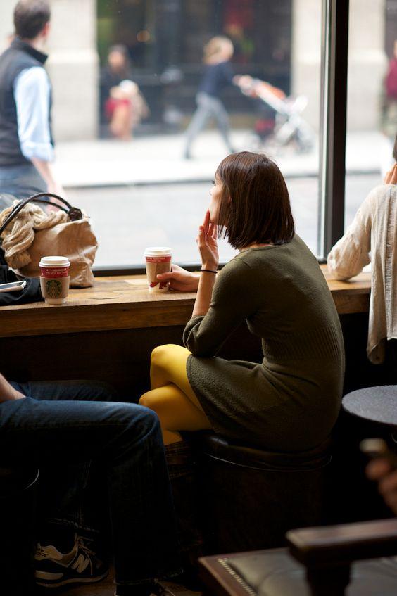 people drinking coffee: Coffee Shops, Coffee Break, Coffee House, Yellow Tights, People Watching, Coffee Time, Coffee Tea