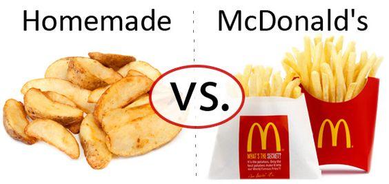 Nutrition Faceoff: Potato vs. McDonald's Fries