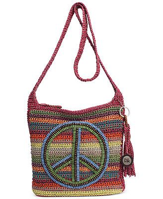 The Sak Casual Classics Crossbody - also in natural with wood beads instead of the version shown here.