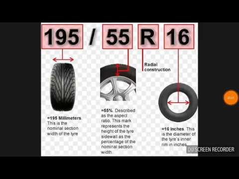 How To Read Your Tyre Size Youtube Tyre Size Tire Automotive Mechanic