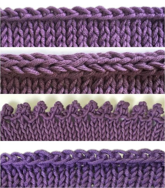 Knitting Casting Off Tutorial : How to bind off knitting tutorials for different