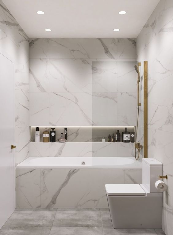Bathroom Effect Ideas Luxurious Marble For A More Detailed And