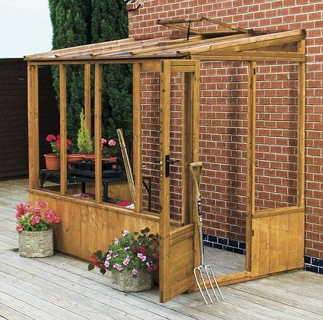 go for the greenhouse effect every garden however small. Black Bedroom Furniture Sets. Home Design Ideas