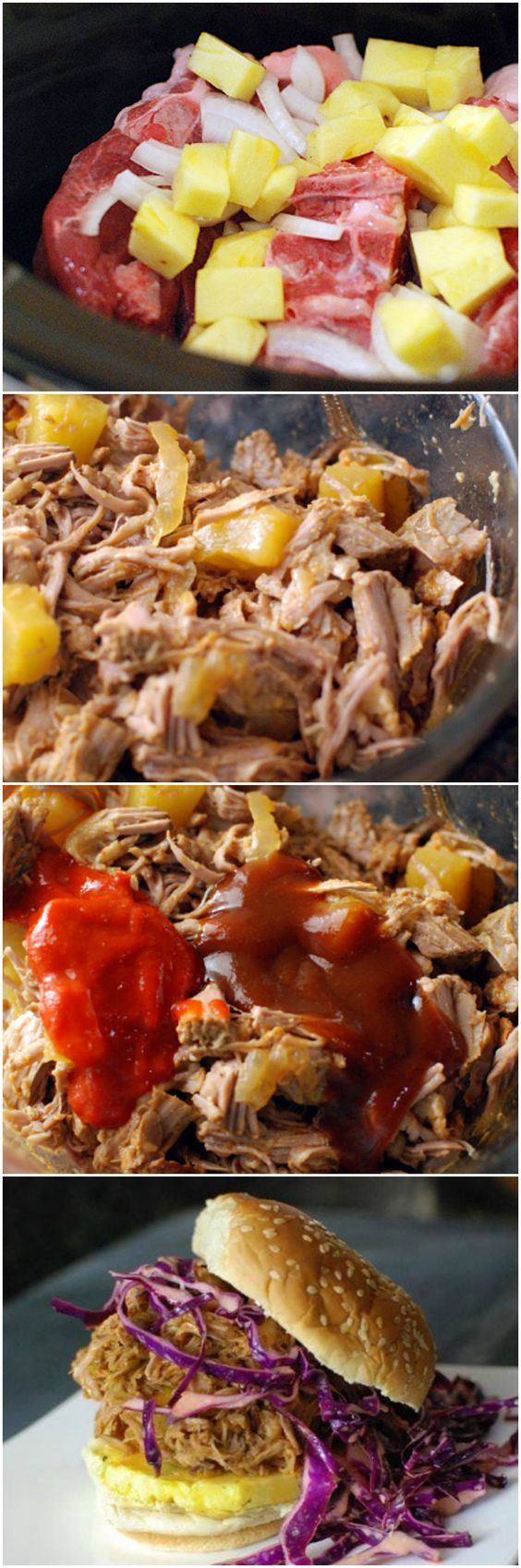pulled pork recipes pork recipes pork sandwich shredded pork cabbage ...