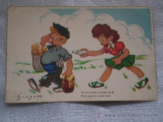 ANTIGUA POSTAL INFANTIL AÑOS 50 (Postales - Niños)