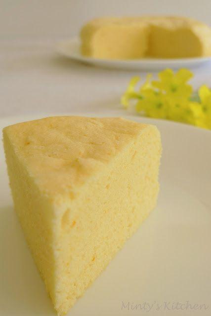 Chinese sponge cake Ji Dan Gao