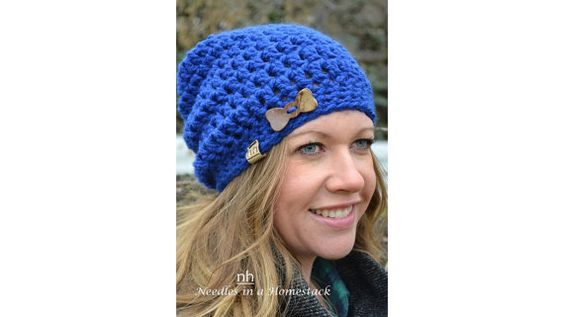 Hey, I found this really awesome Etsy listing at https://www.etsy.com/ca/listing/221680447/chunky-slouch-hat-toque-adult-slouch-hat