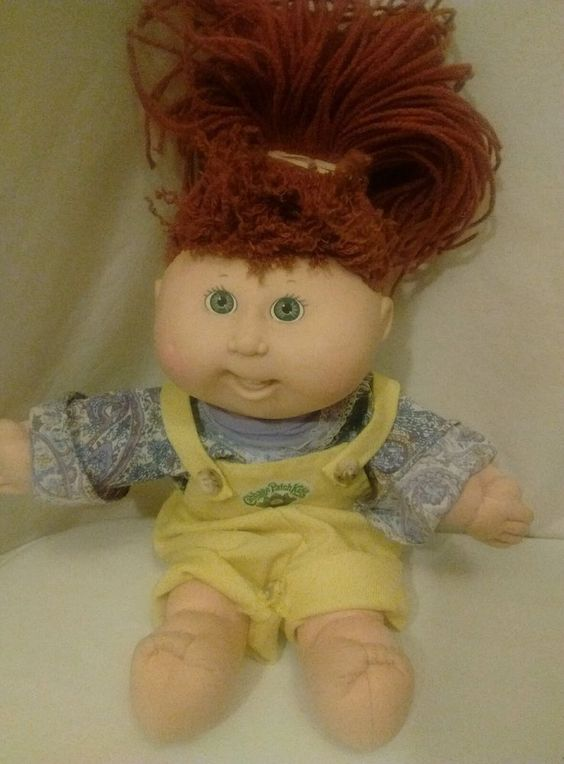 CPK Cabbage Patch Kids Girl Doll Crimp N Curl Styles Incredible Hair that holds…