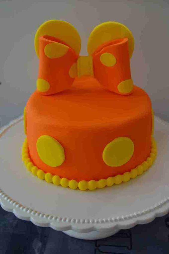 Gâteau d'essai Minnie