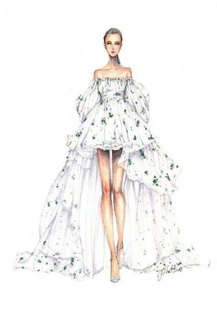 43 Ideas For Fashion Model Sketch Dresses Art Fashion Illustration Dresses Dress Design Sketches Fashion Model Sketch