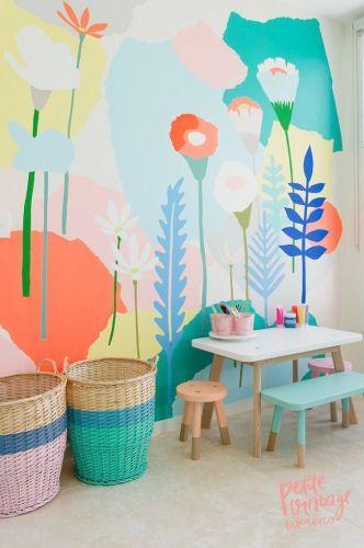 Chambre d'enfant / Kids room / Décoration chambre enfant, idée déco enfant, chambre enfant colorée, chambre enfant arty, Lovely Market