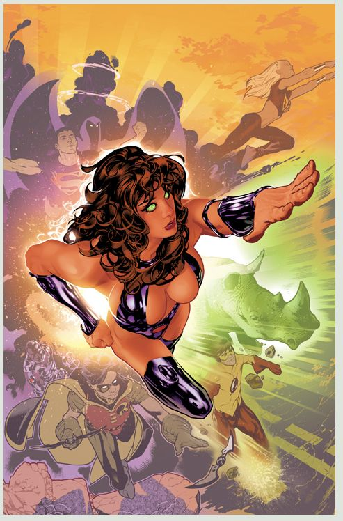 Teen Titans Starfire by Adam Hughes