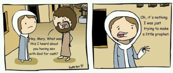 The real story of the conception of jesus.