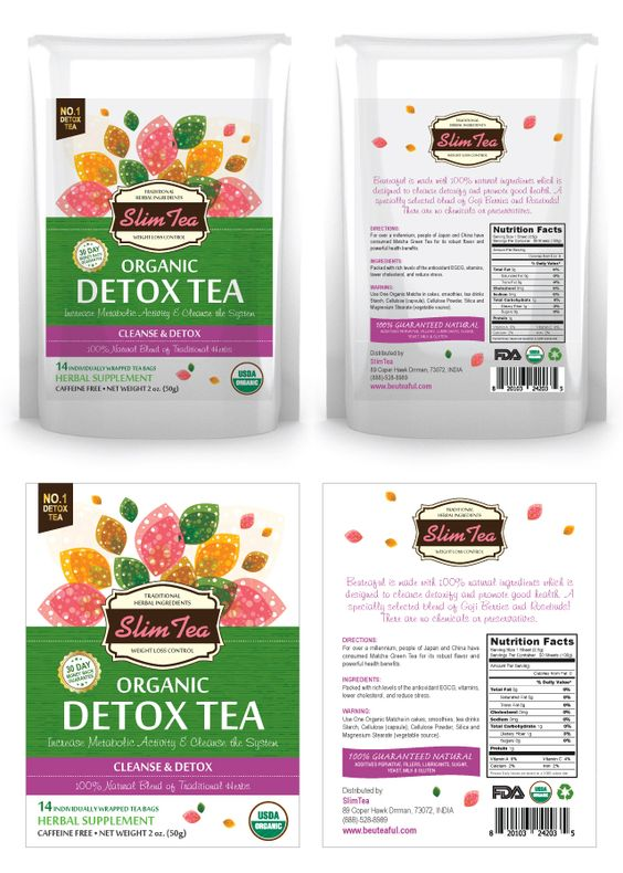 do detox tea bags work