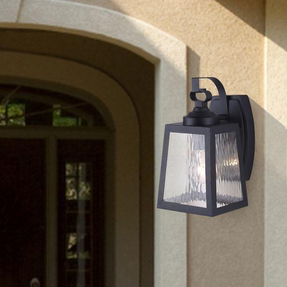 Bronte 1 Light Outdoor Wall Lantern