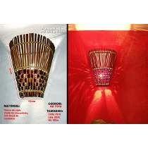 Luminárias Rústicas Arandela De Parede Artesanal - Ar7018