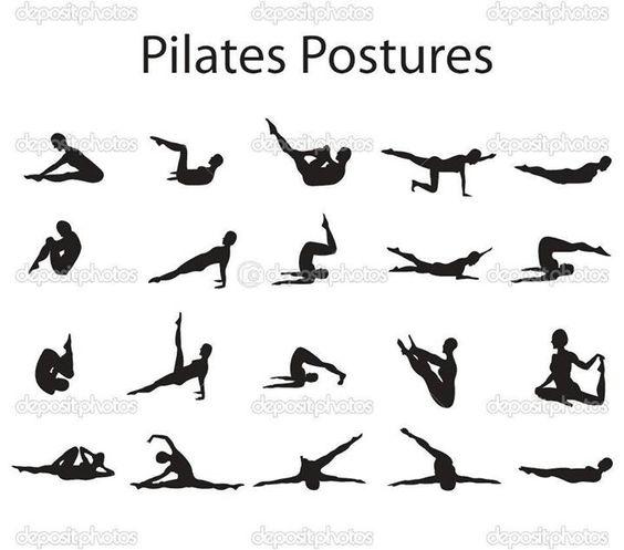Pilates postures