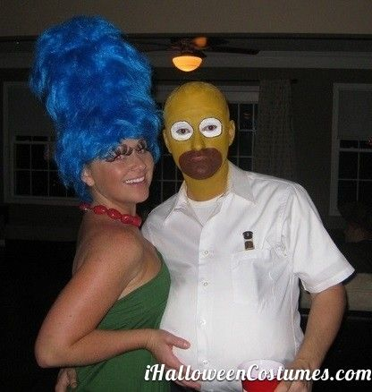 the simpsons couple - Halloween Costumes 2013 Halloween - awesome halloween costume ideas