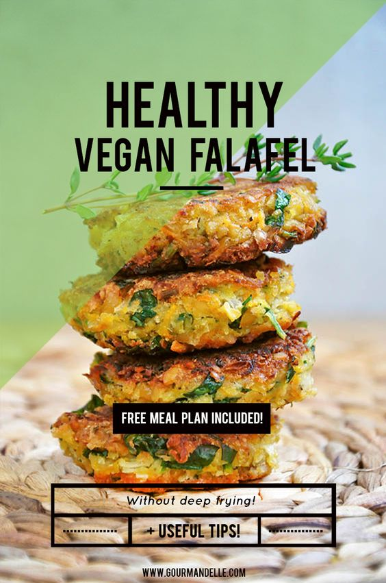 This is a healthy vegan falafel recipe, without deep frying and with lots of fresh parsley!  It's so easy to make and I'm sure my version of the famous falafel recipe will become one of your favorite recipes too!  Make these falafel chickpea patties today, or pin this recipe for later: http://gourmandelle.com/chiftelute-de-naut-healthy-vegan-falafel/