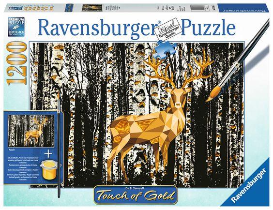Ravensburger Puzzle - Hirsch im Birkenwald - 1200 Teile
