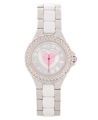 Betsey Johnson Watch, Women's Stainless Steel and Polycarbonate Bracelet 27mm BJ00035-05 - All Watches - Jewelry & Watches - Macy's