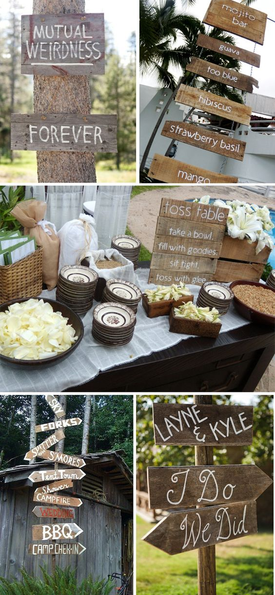 creative wedding signs#Repin By:Pinterest++ for iPad#