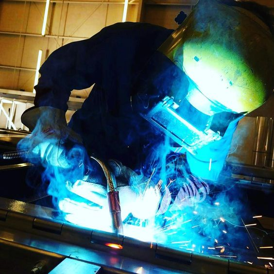 #Weld it #Wednesday !  At #SPEVCO we are always working on something #new. Check us out!!! Link in bio, that #blueark though #SpevcoCan #Welding #weldporn #weldit #weldernation #weldlicious #weldeveryday #tig #instaweld #NorthCarolina
