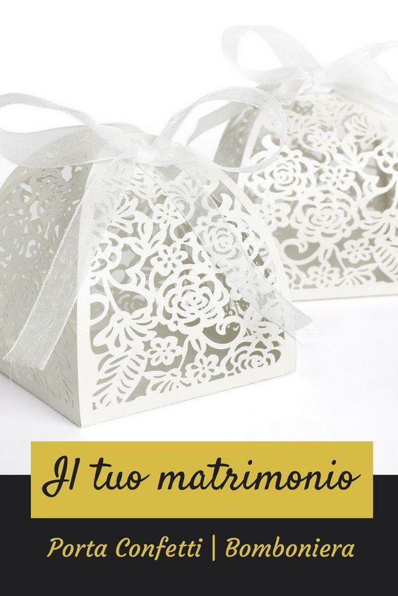 """Un """"pacchetto regalo"""" crea sempre una grande aspettativa. Cosa succederebbe se chi lo riceve fosse pervaso da odore di confetti e cioccolatini? Creeresti un ricordo dolcissimo del tuo matrimonio! #weddingtime #confetti #eBay4Wedding #weddingdecor #weddingdetails"""