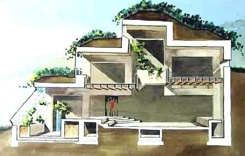 Earth Bermed House Plans Earth Berm Home Plans Creative Earth Home Designs Earth Berm House Plans House Plans Earthship Home Earth Sheltered Homes Earth Homes