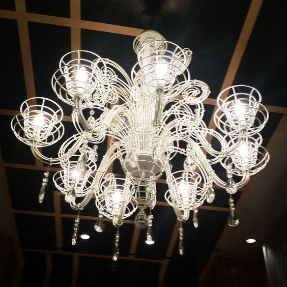 chandelier at the cosmopolitan, las vegas