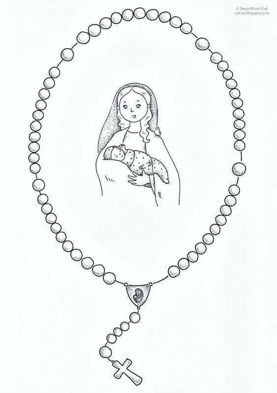 Pin De Jorge Alberto En Maryja Rosario Para Ninos Virgen Maria Para Ninos Rosarios