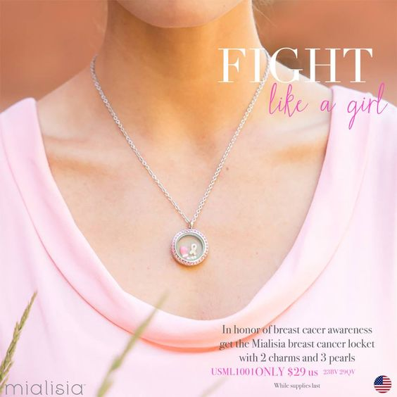 Fight like a girl!  Breast Cancer locket only $29.00 while supplies last. http://tammytamayo.southhilldesigns.com/en/shop/74/deals-steals/2798/breast-cancer-locket