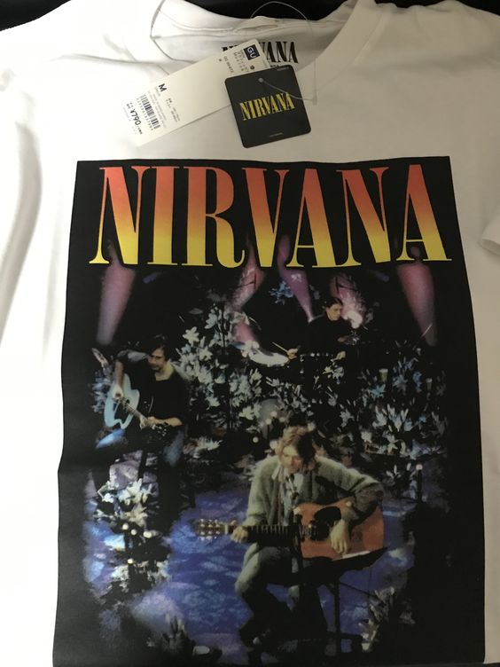 GUからリリースされたニルヴァーナのバンドTシャツ2019
