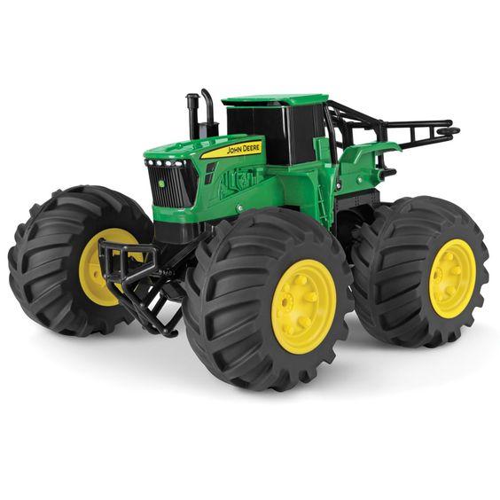 The RC John Deere Tractor - Hammacher Schlemmer