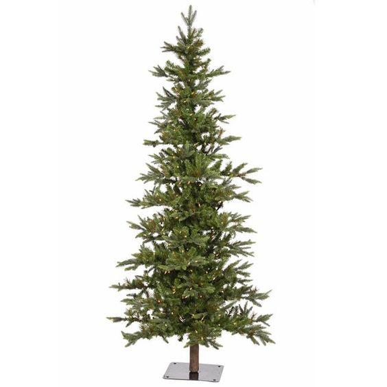 Pre Lit Christmas Tree Fuses: 7' Pre-Lit Shawnee Alpine Style Artificial Christmas Tree